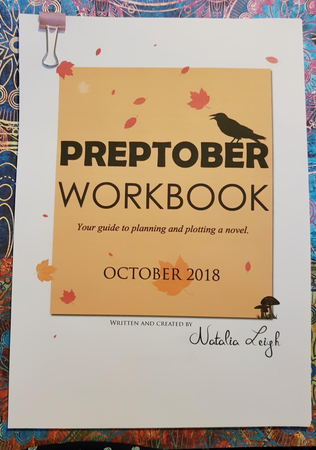 Natalia Leigh Pretober Workbook